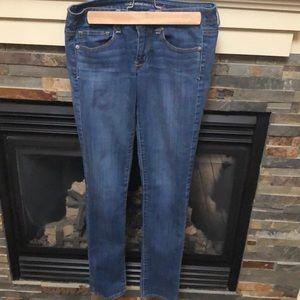 American eagle super stretch skinny jeans size 6